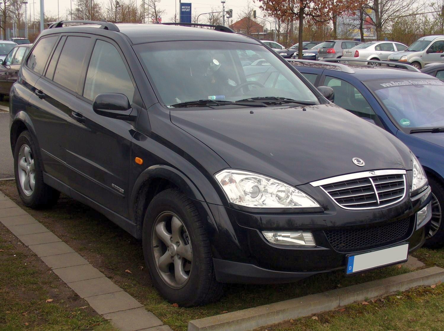 2007 Ssangyong Actyon #9