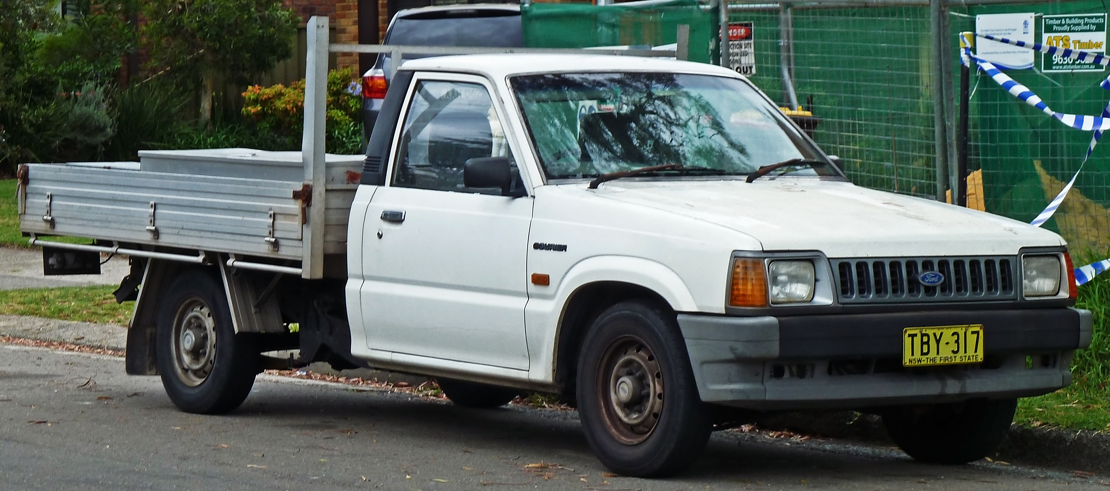 1986 Ford Courier #5