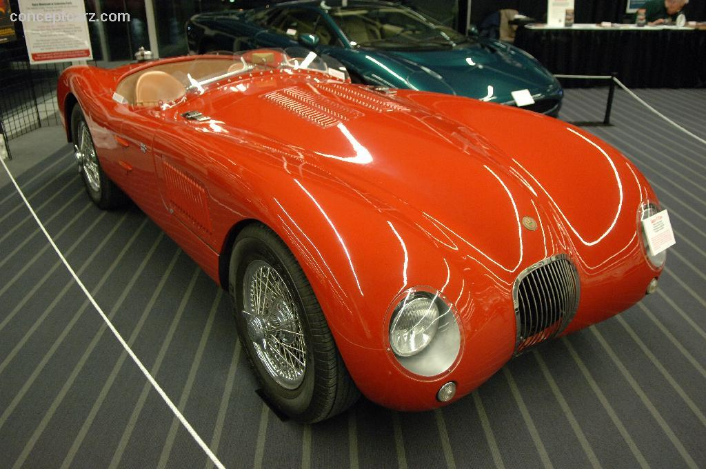 1951 Jaguar C-Type #8