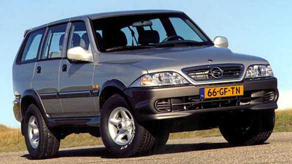 2001 Ssangyong Musso #9