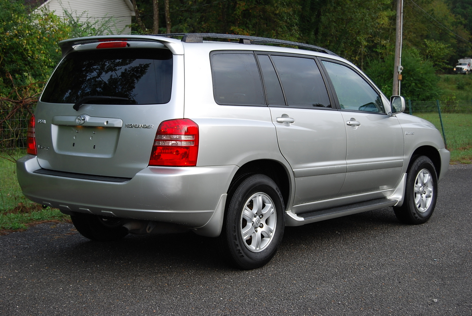 2002 toyota highlander pictures, 3. 0l. , gasoline, automatic for sale.