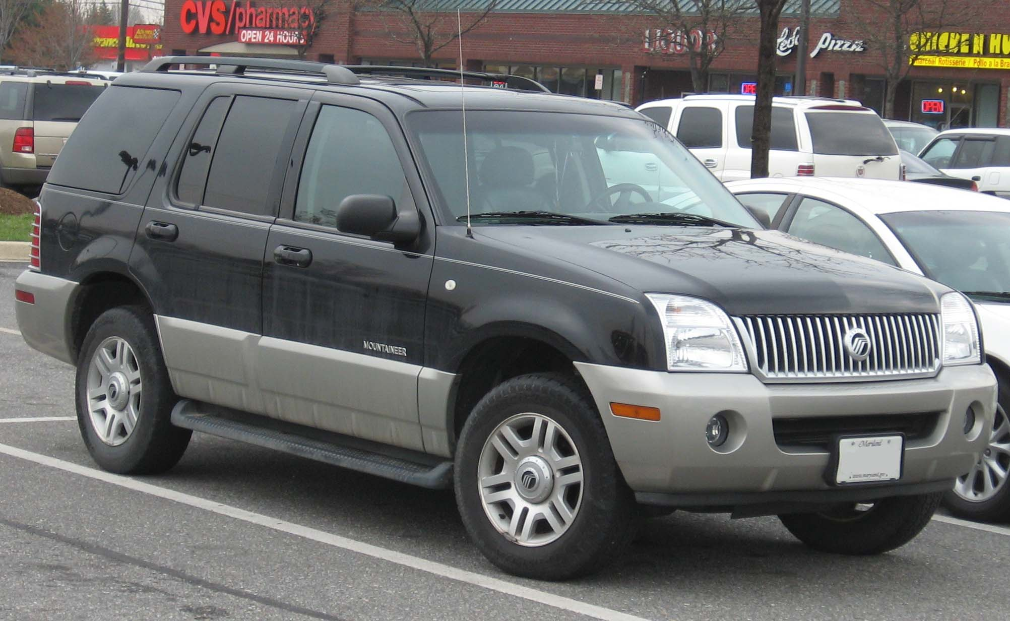 2002 Mercury Mountaineer #4