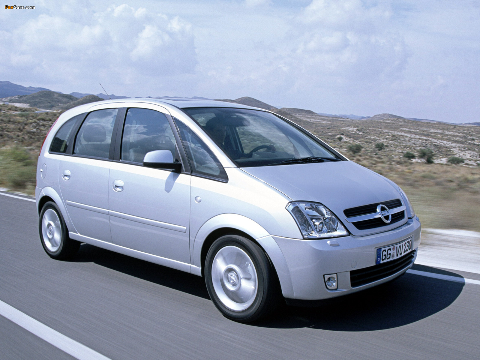 2003 opel meriva photos informations articles