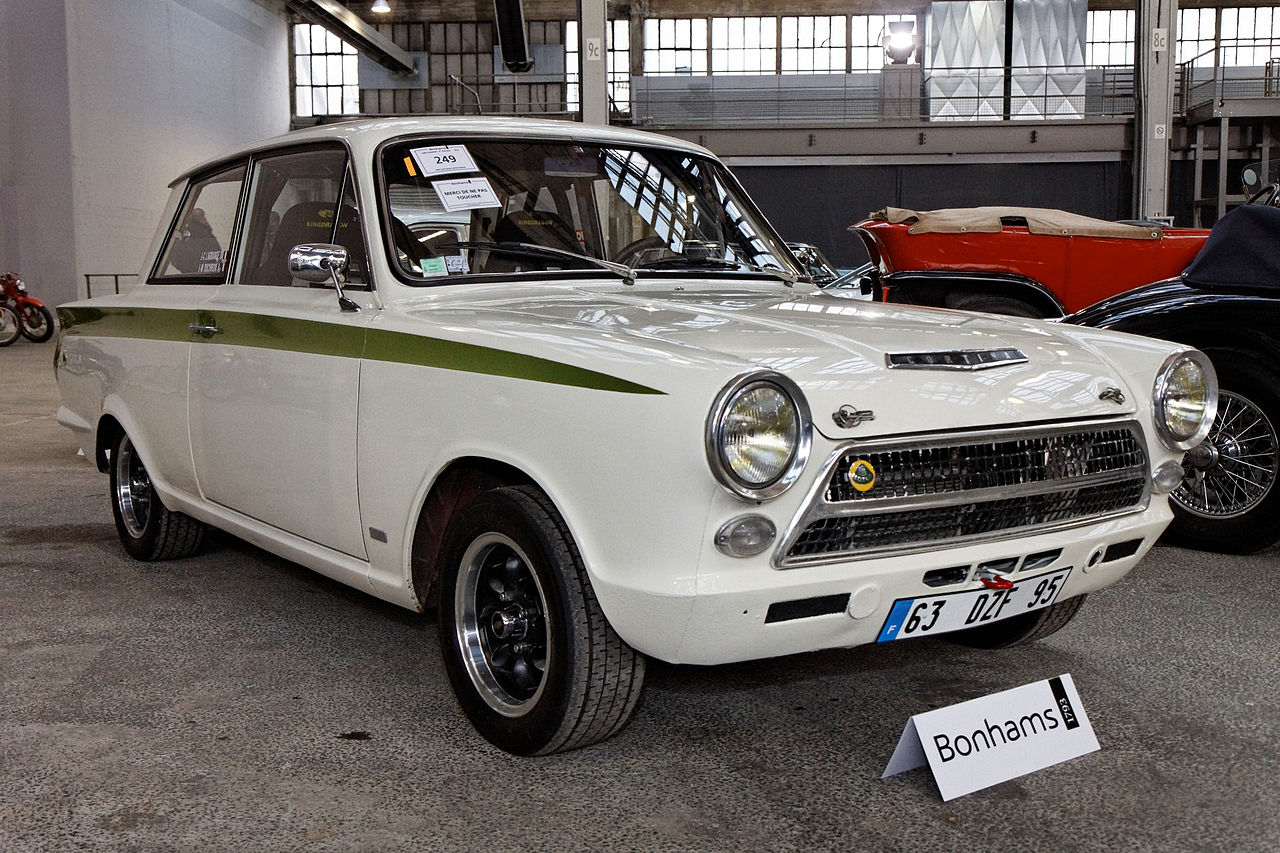 Ford Lotus Cortina #17
