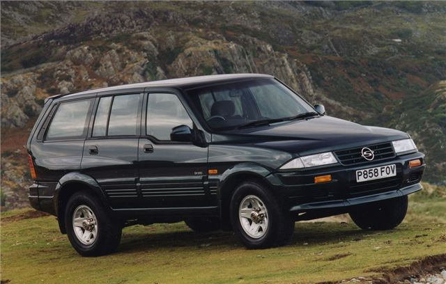 1995 Ssangyong Musso #2
