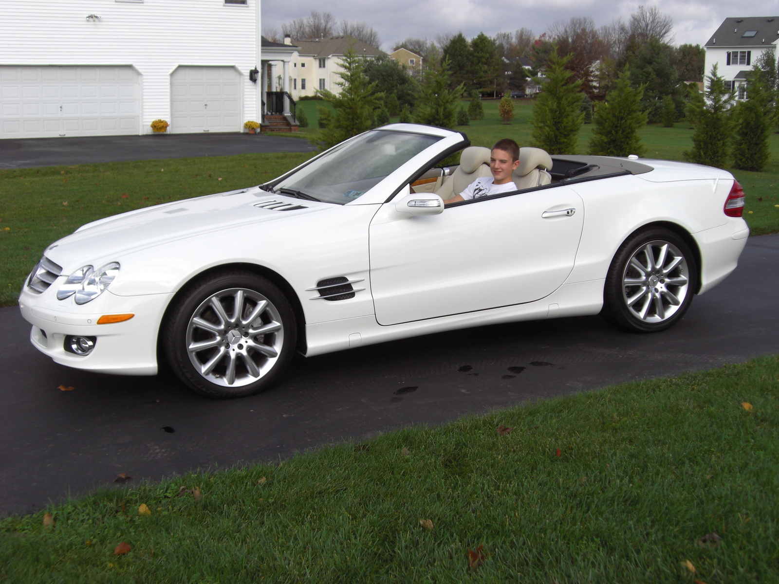 2007 Mercedes-Benz SL #7