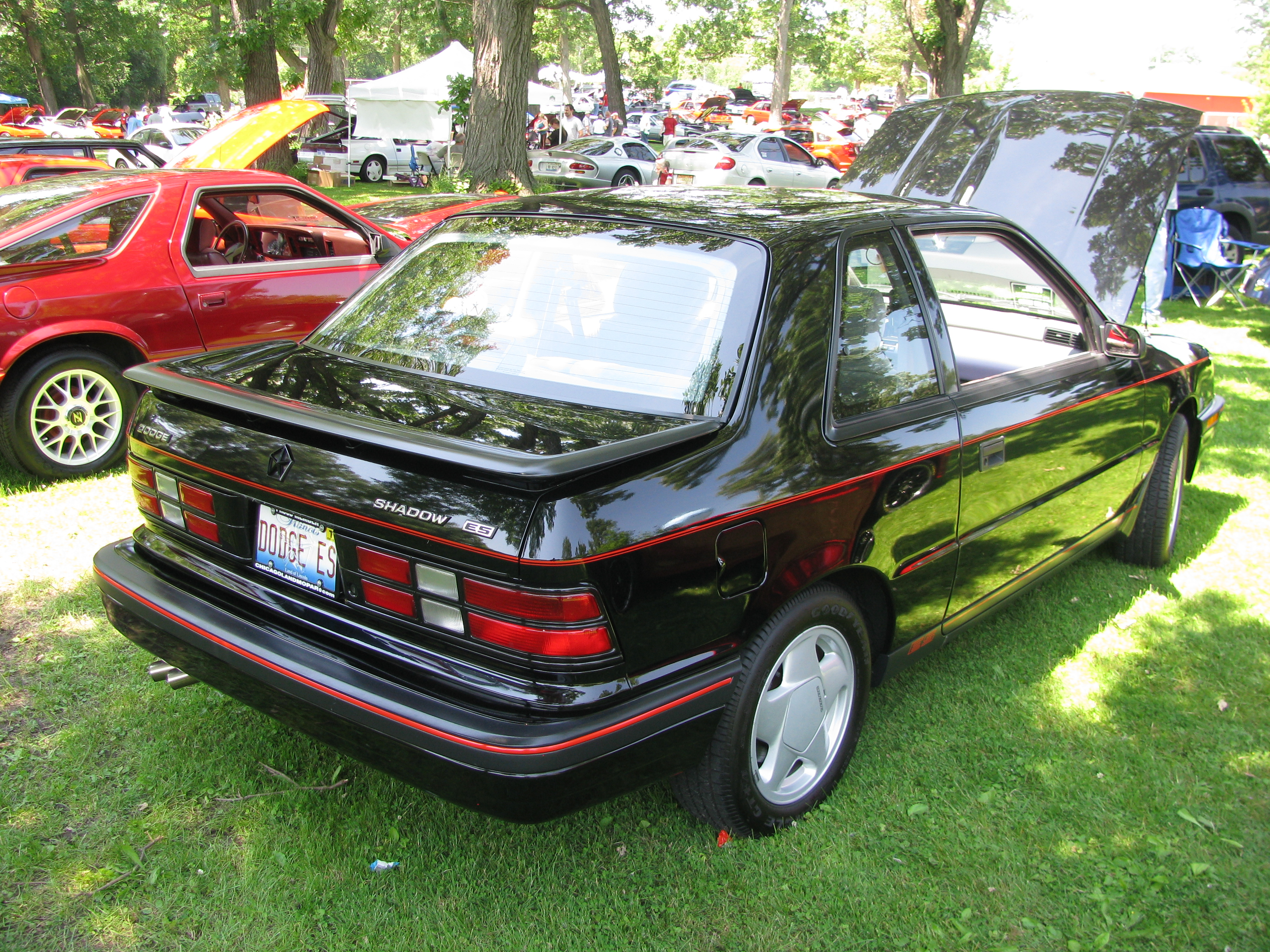 1990 Dodge Shadow #11