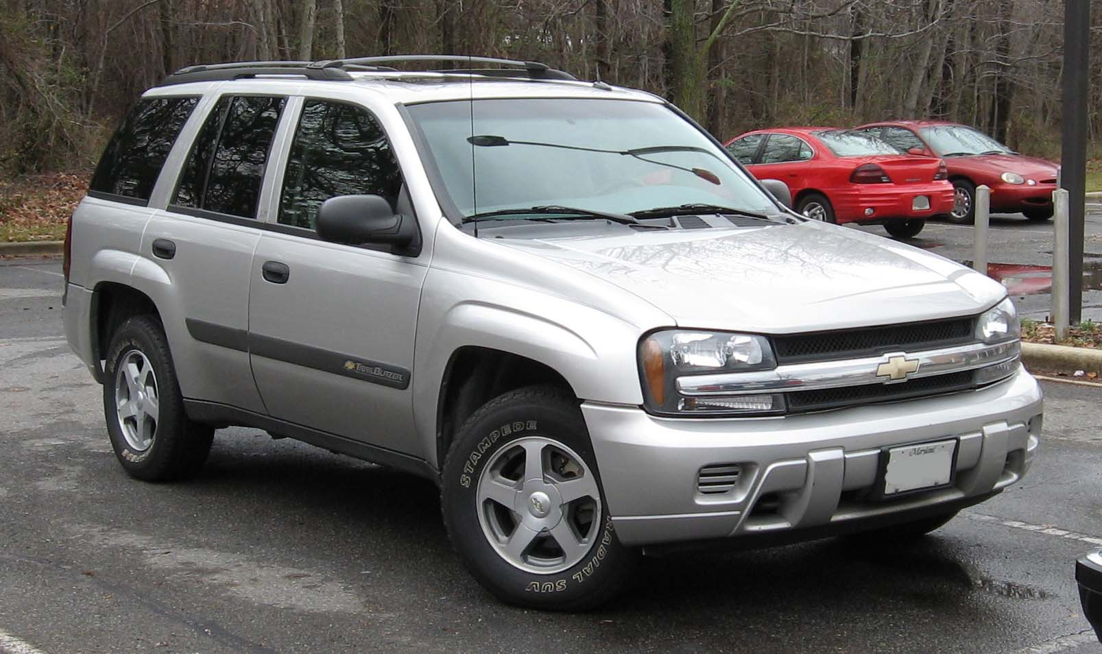 2002 Chevrolet Trailblazer #3