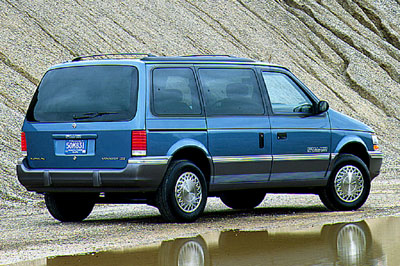 1991 Plymouth Voyager #12
