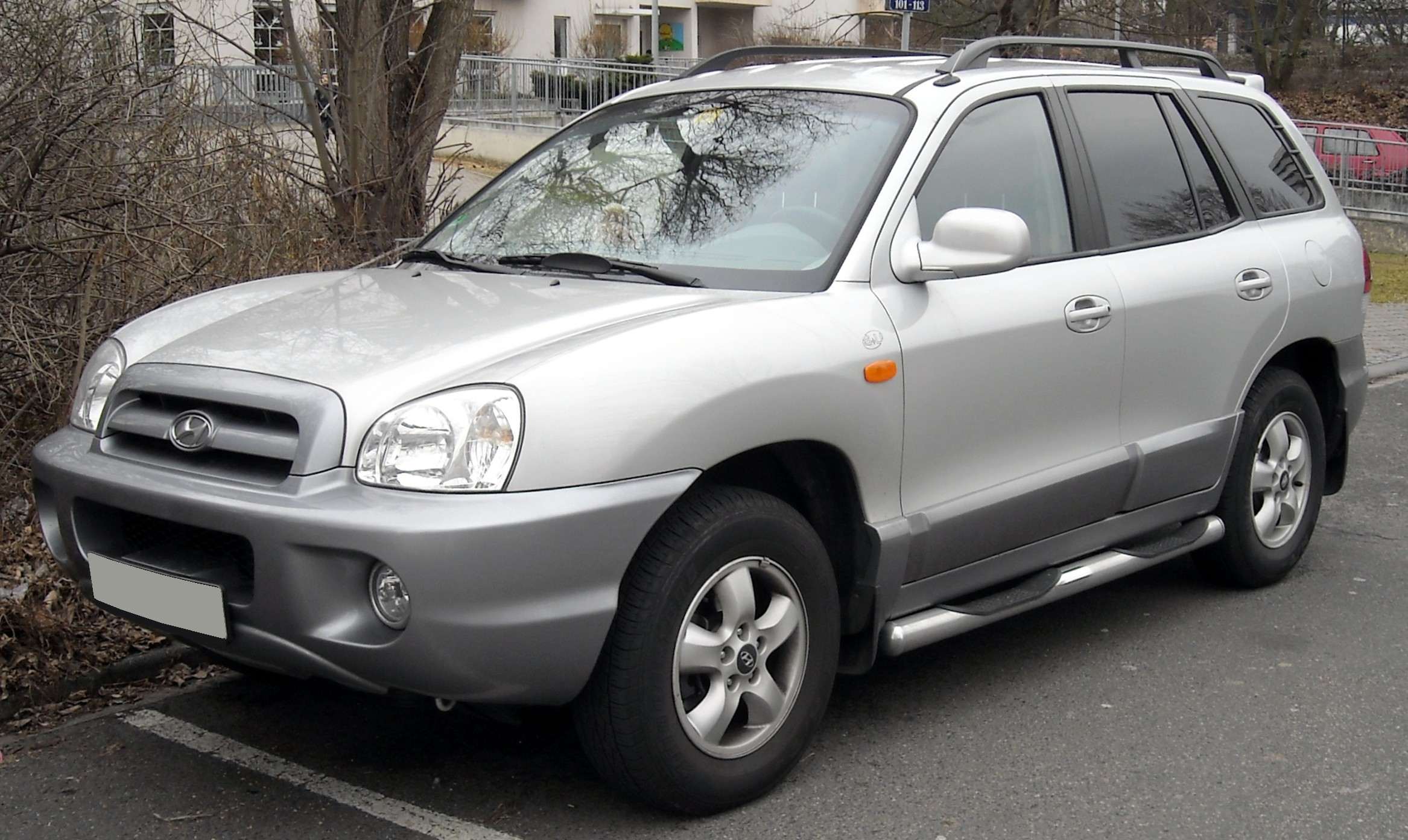 2004 Hyundai Santa Fe Photos Informations Articles