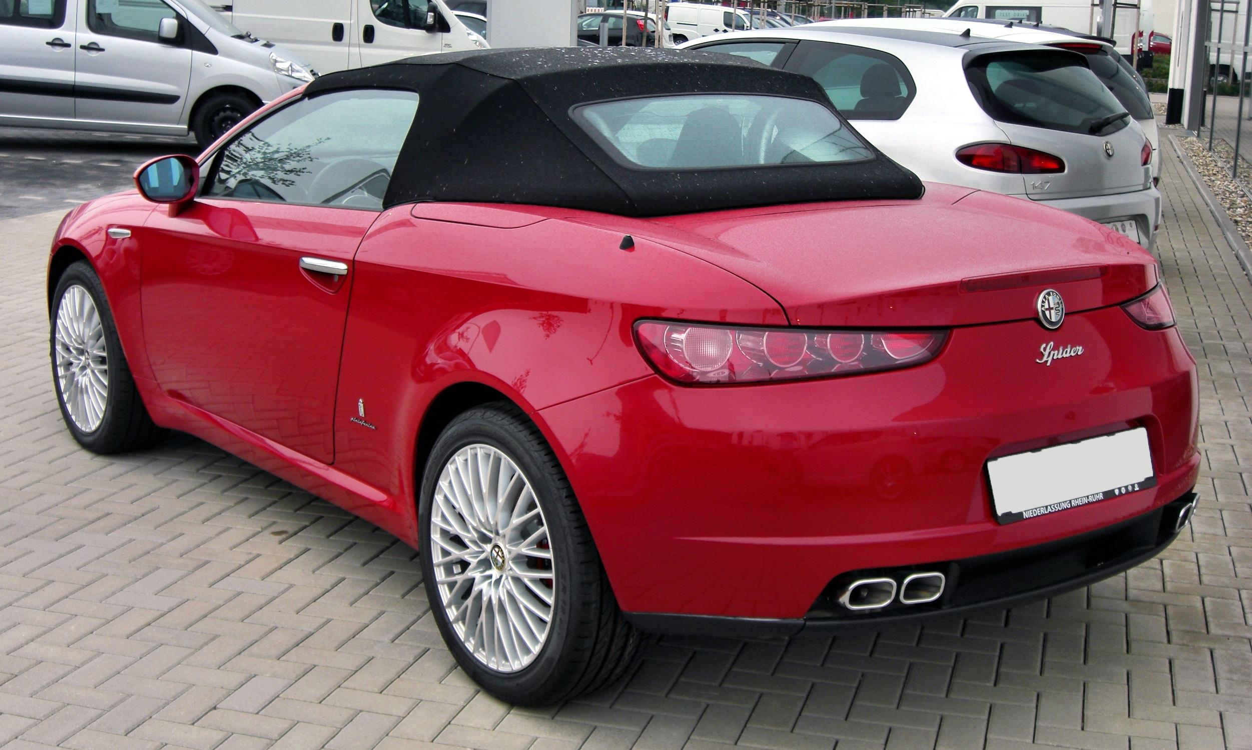 2009 alfa romeo spider photos informations articles. Black Bedroom Furniture Sets. Home Design Ideas