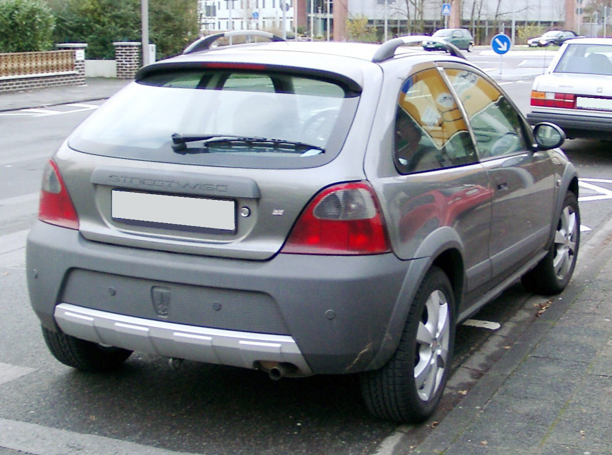2003 Rover Streetwise #8