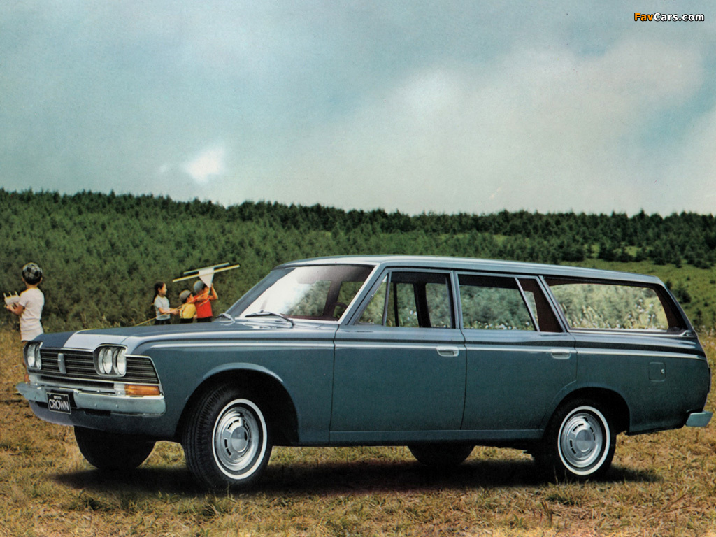 1967 Toyota Crown #5