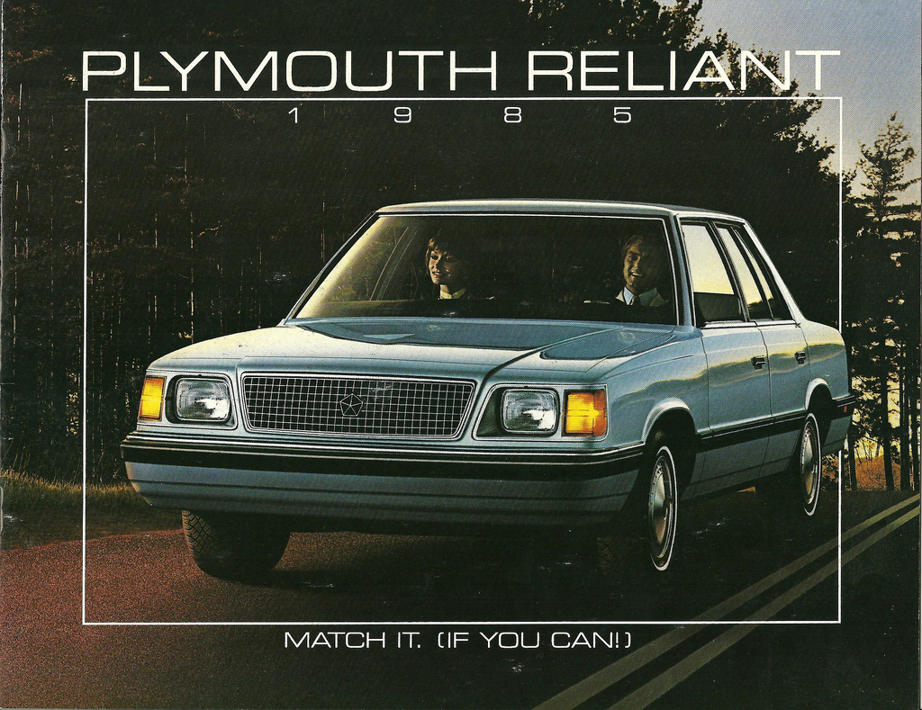 1985 Plymouth Reliant #8