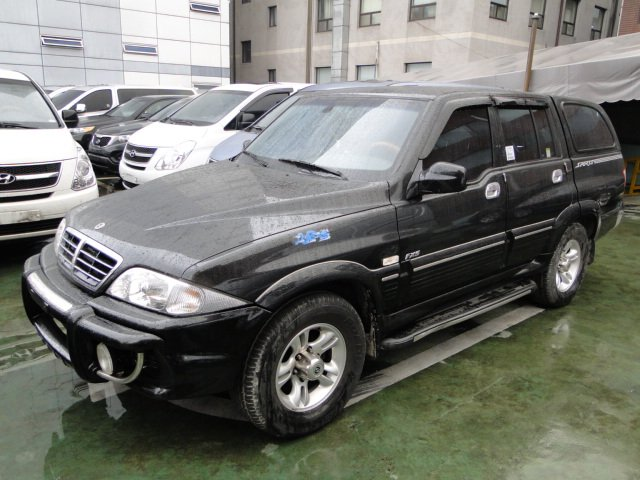 2006 Ssangyong Musso #4