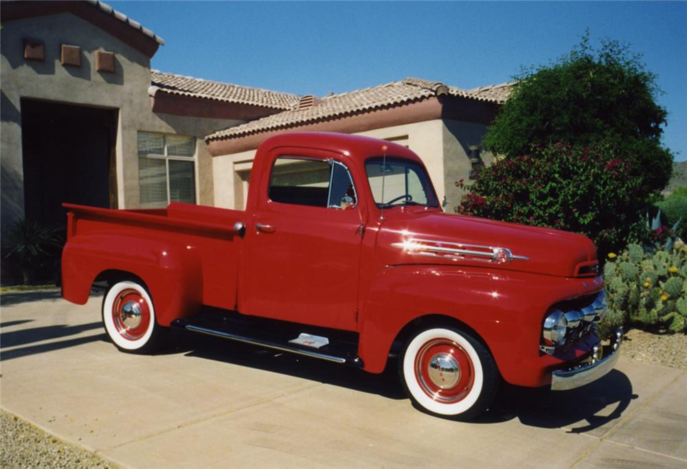 1952 Ford F #8