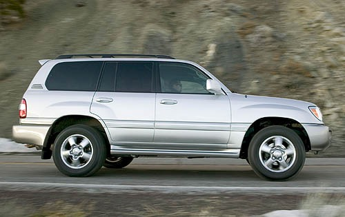 2006 Toyota Land Cruiser #8