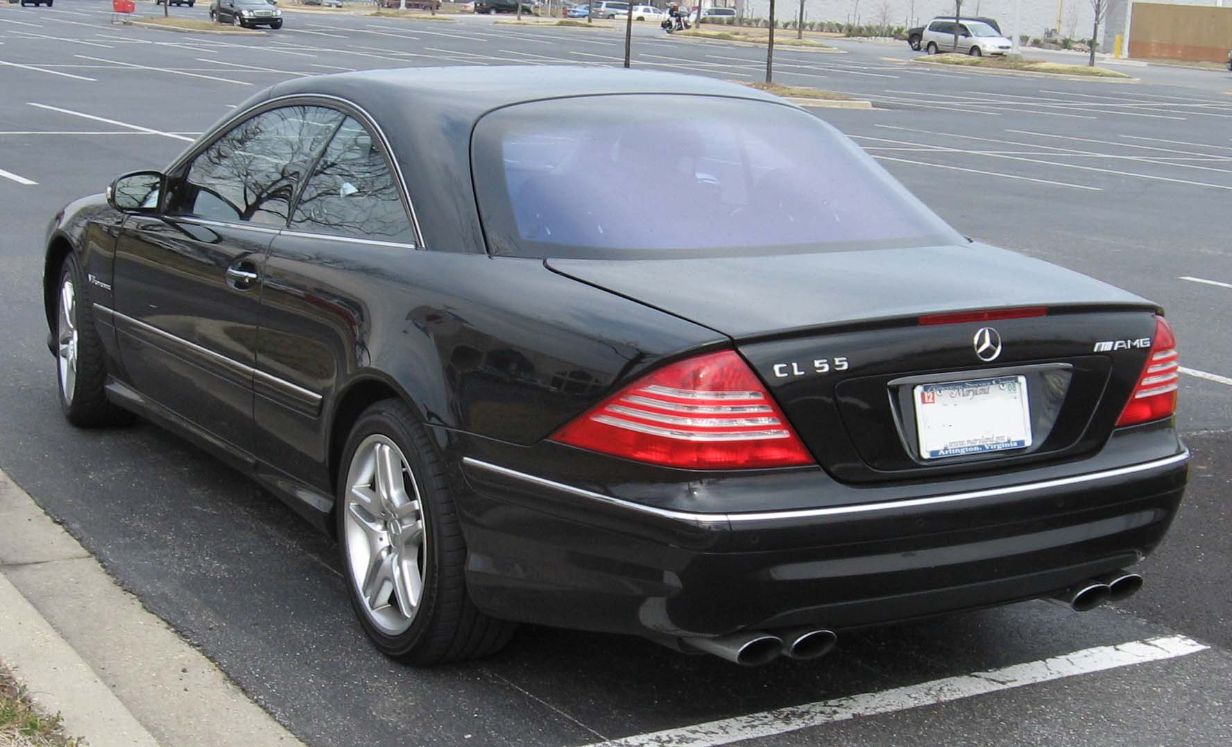 2003 Mercedes-Benz CL #5
