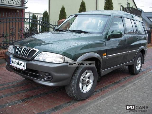 2002 Ssangyong Musso #5