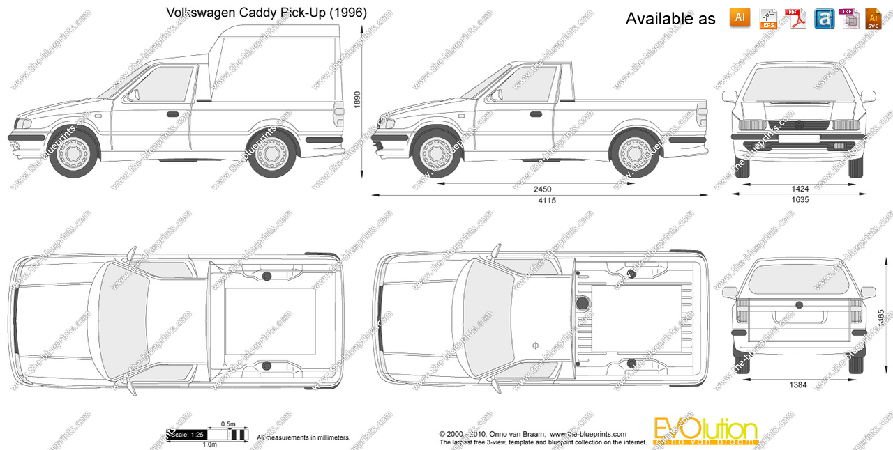 2000 Volkswagen Caddy #16