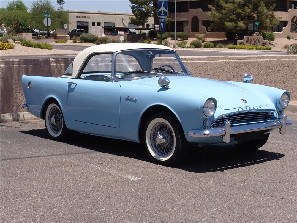 1962 Sunbeam Alpine #6