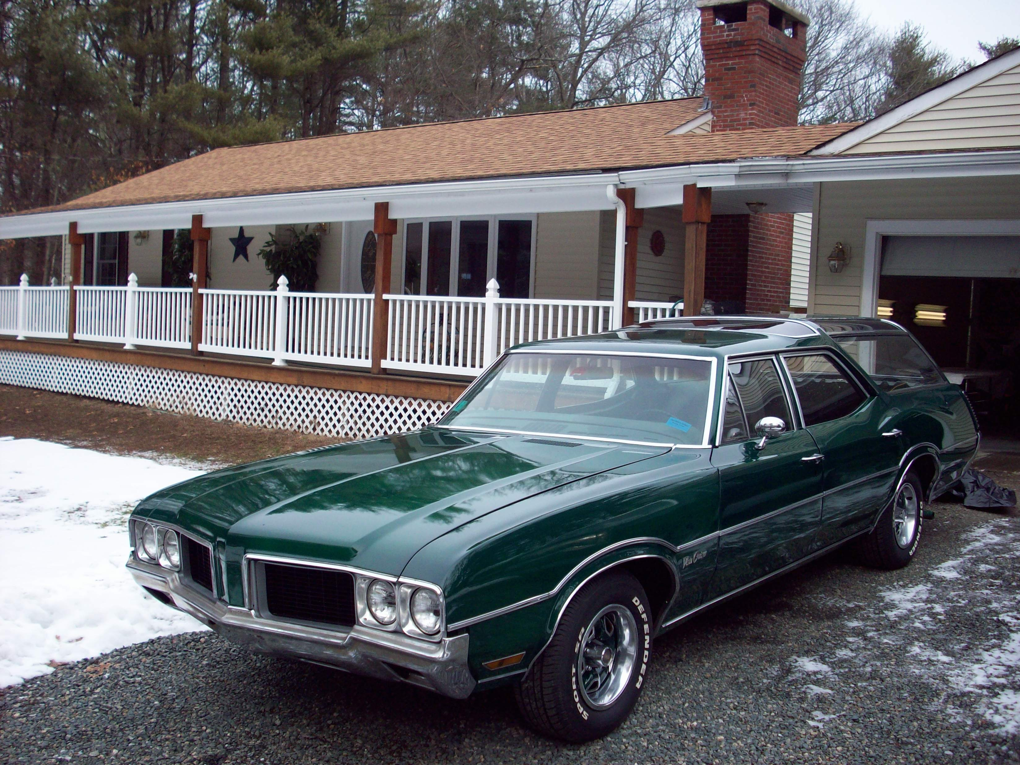1971 Oldsmobile Vista Cruiser #6