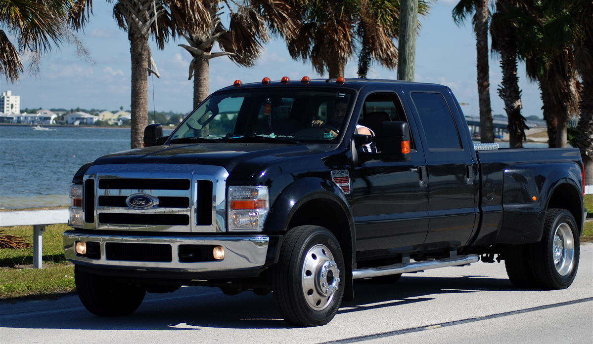 2009 Ford F-450 Super Duty #5