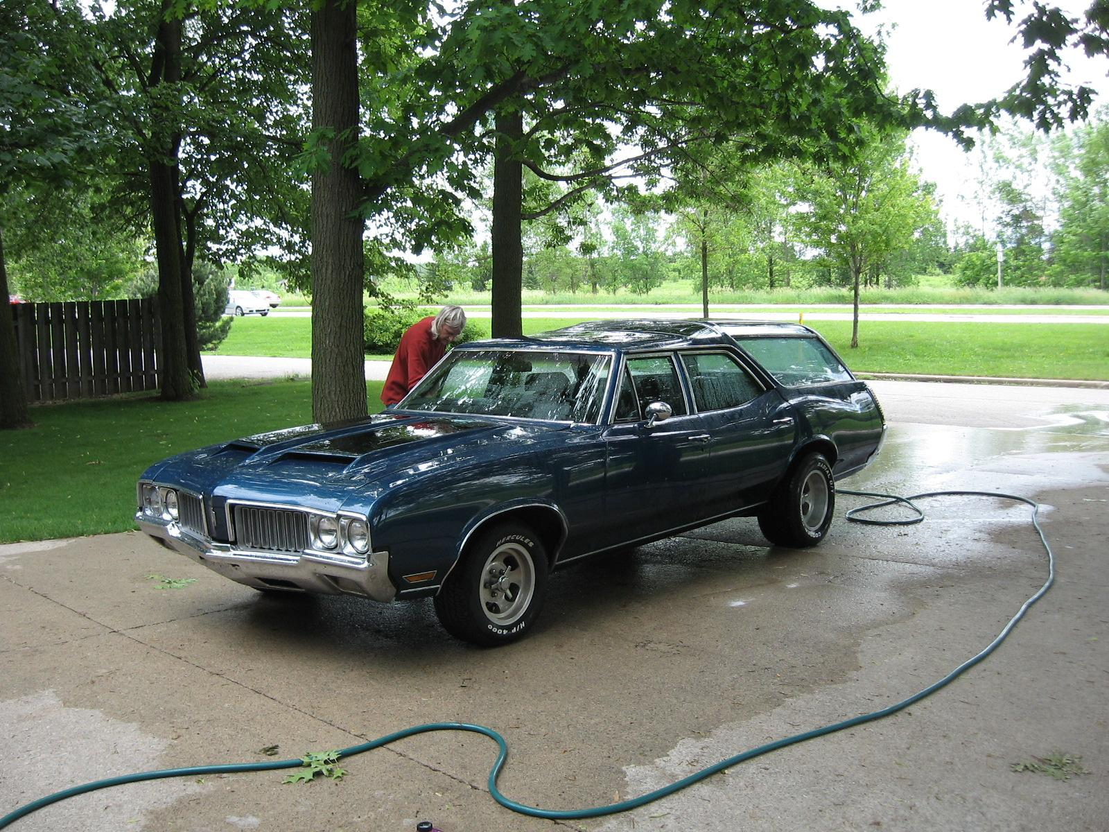 1970 Oldsmobile Vista Cruiser #15