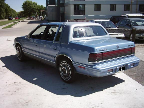1991 Chrysler Le Baron #9
