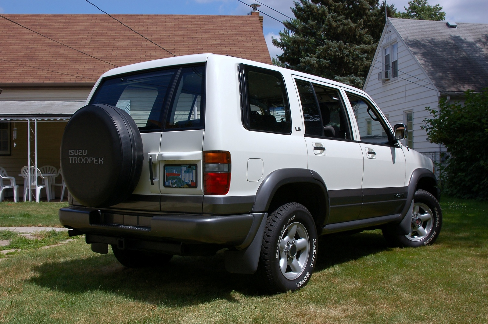 1995 Isuzu Trooper #8