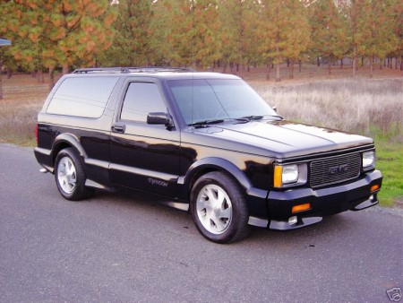 1992 GMC Typhoon #5