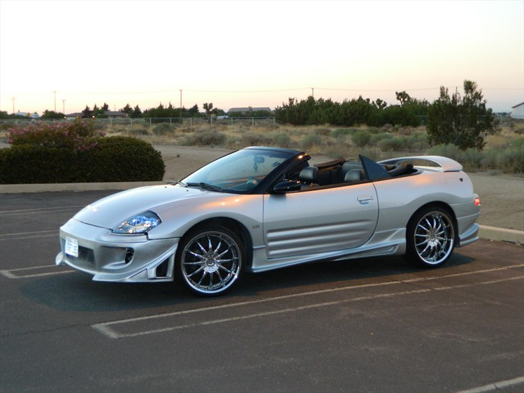 2003 Mitsubishi Eclipse Spyder Photos Informations Articles