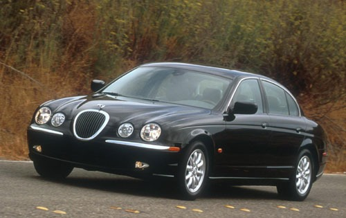 2001 Jaguar S-type #4