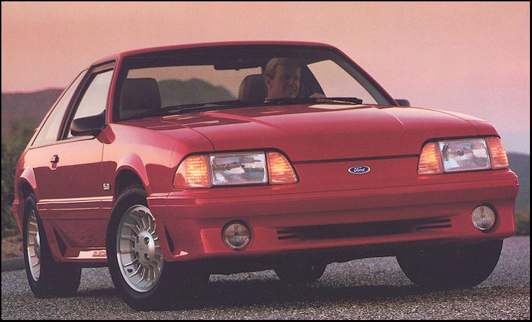 1990 Ford Mustang #15