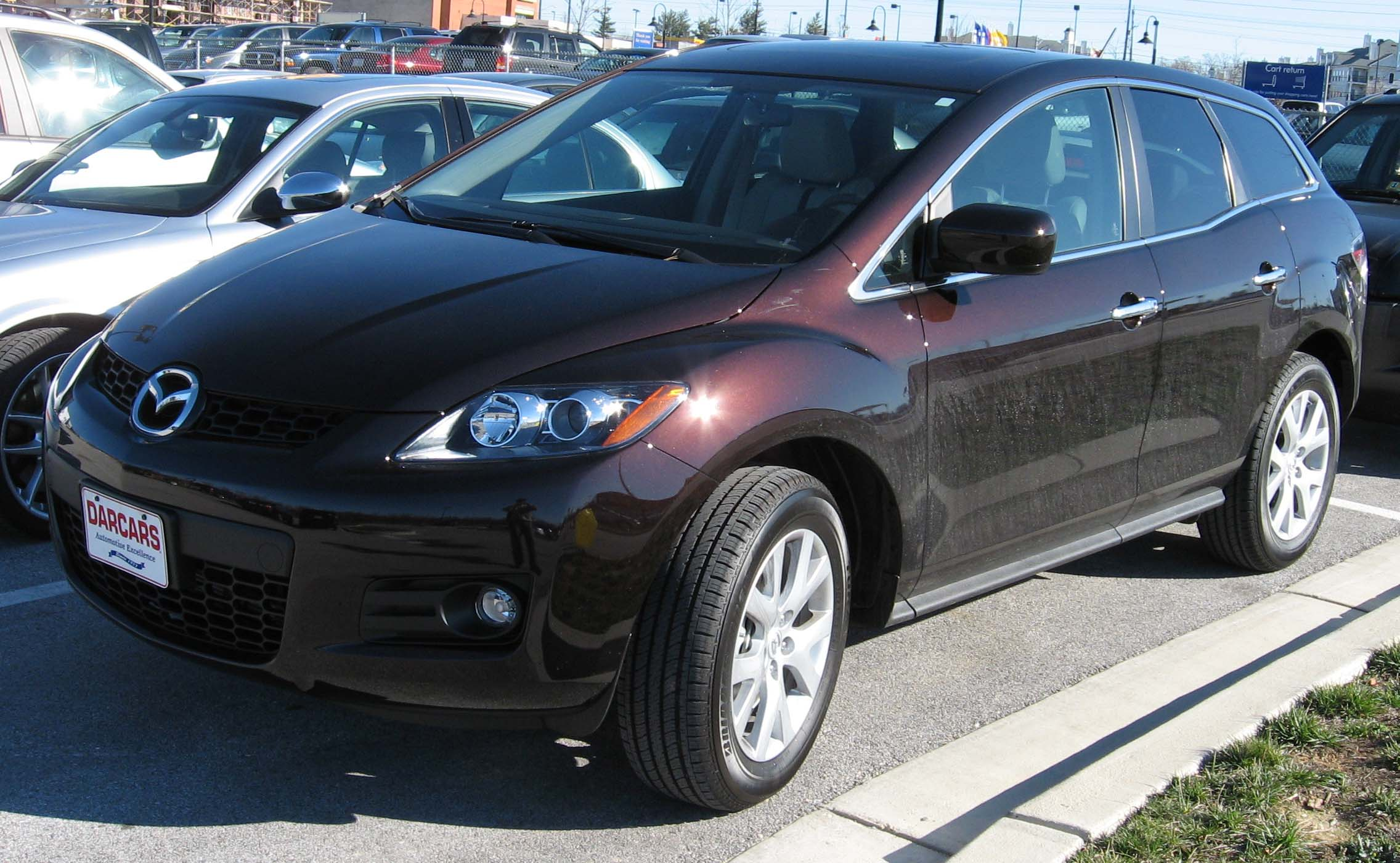 2007 mazda cx 7 photos informations articles. Black Bedroom Furniture Sets. Home Design Ideas