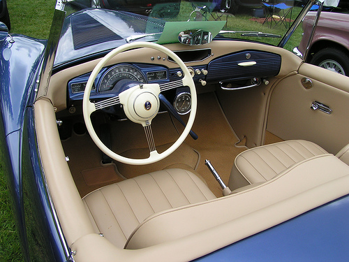 1953 Sunbeam Alpine #10