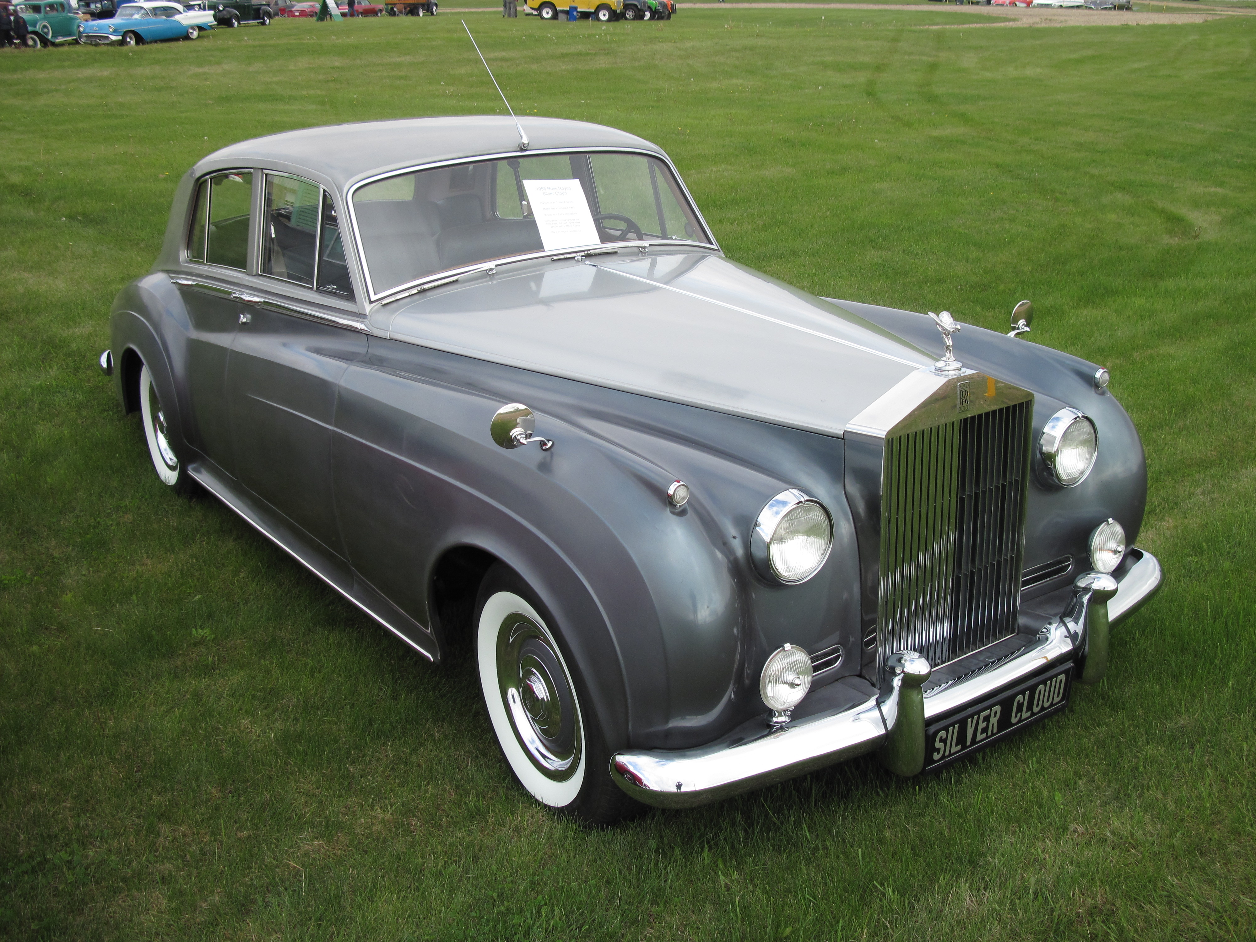 1958 Rolls royce Silver Cloud #12