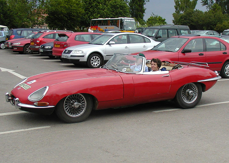 1966 Jaguar E-Type #11