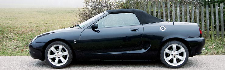 1995 Rover MGF #3