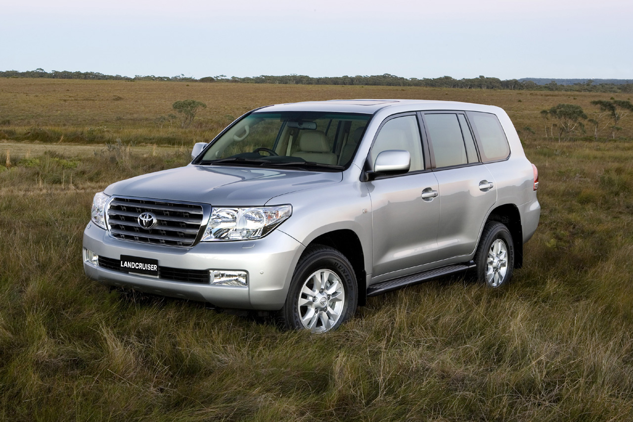 2008 Toyota Land Cruiser #5