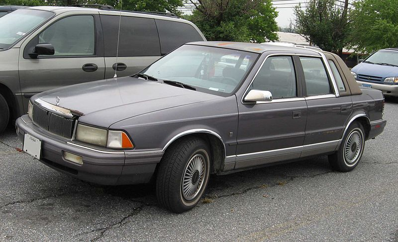 1990 Chrysler Le Baron #7
