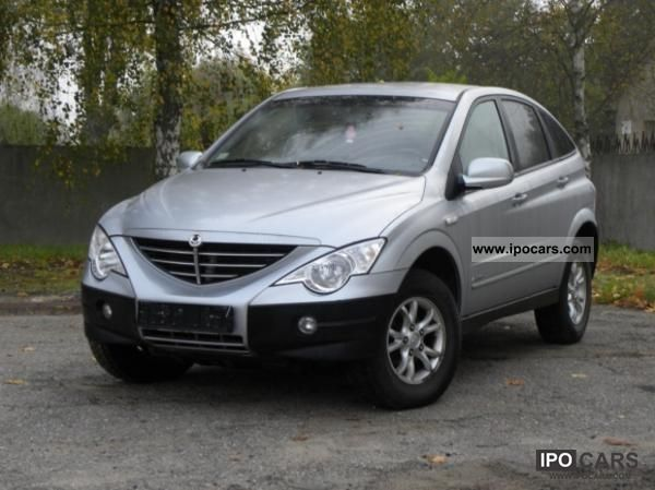 2007 Ssangyong Actyon #4