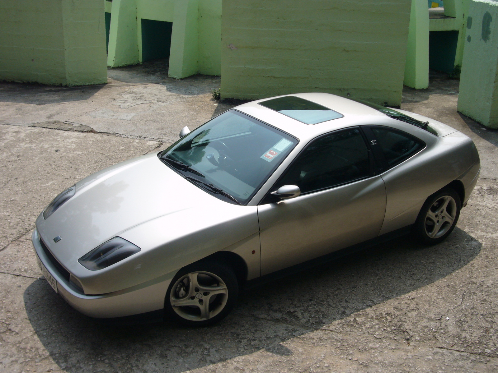 1998 Fiat Coupe #8