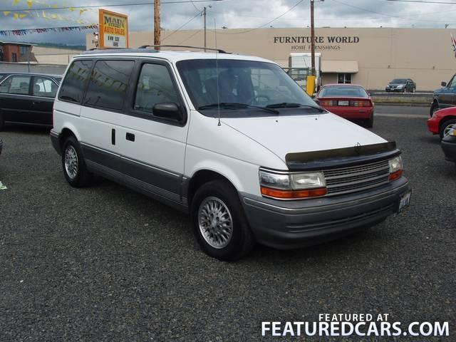1993 Plymouth Voyager #5