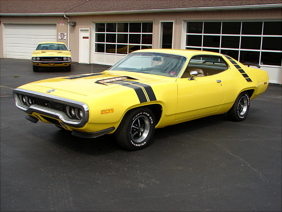 1971 Plymouth Road Runner #2