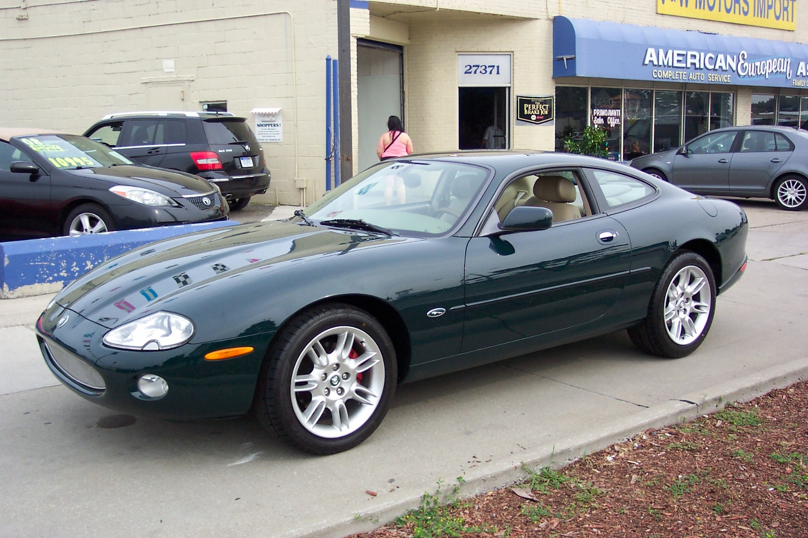 2001 Jaguar Xk-series #9