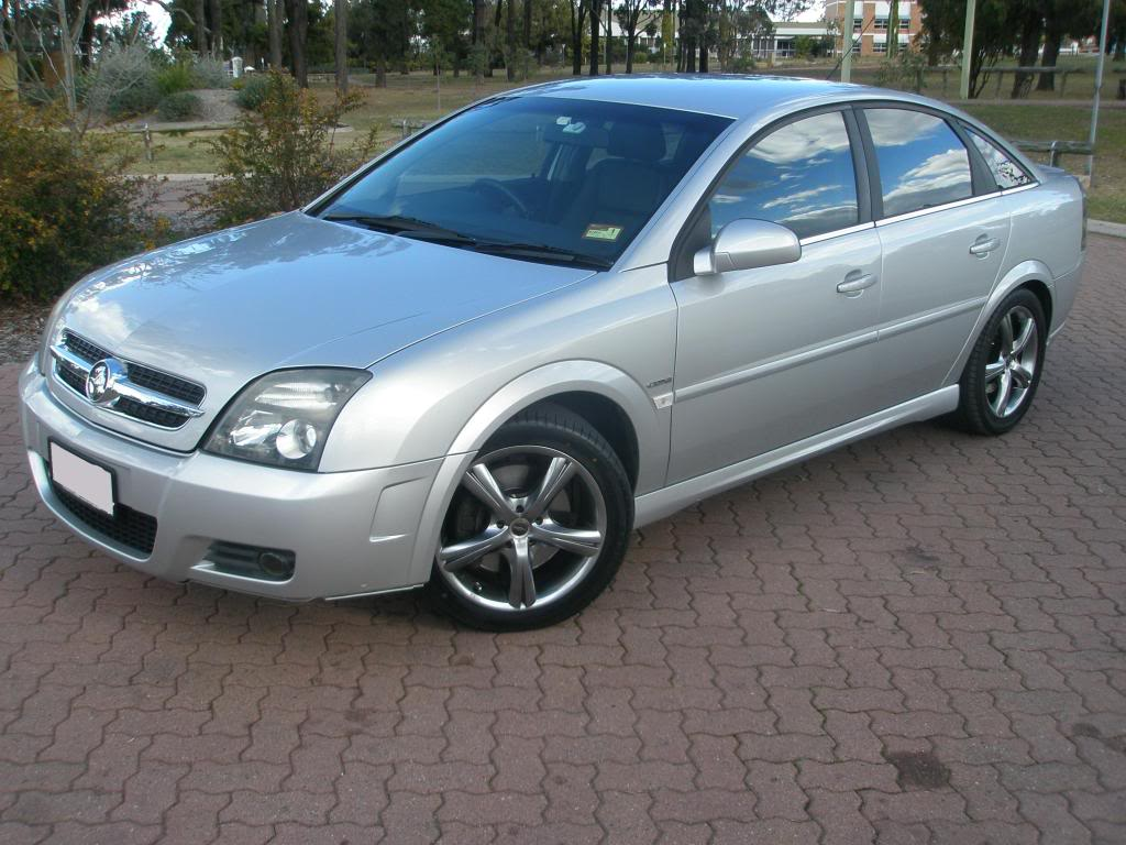 2004 Holden Vectra #8