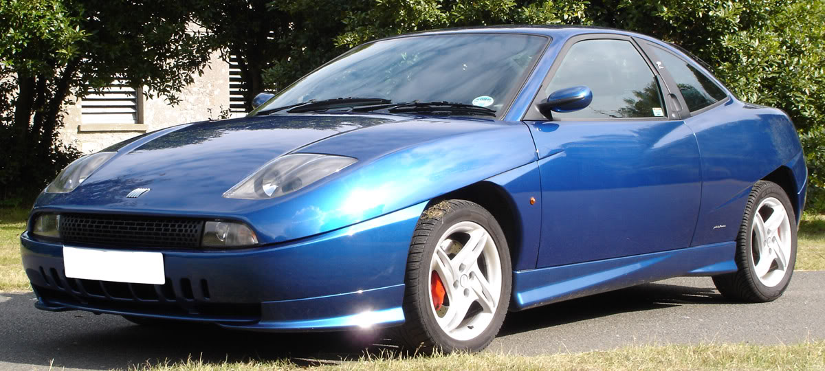 1996 Fiat Coupe #9