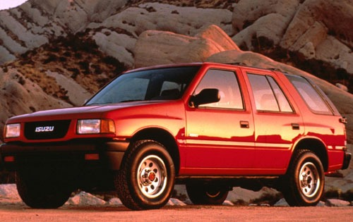 1993 Isuzu Rodeo #10