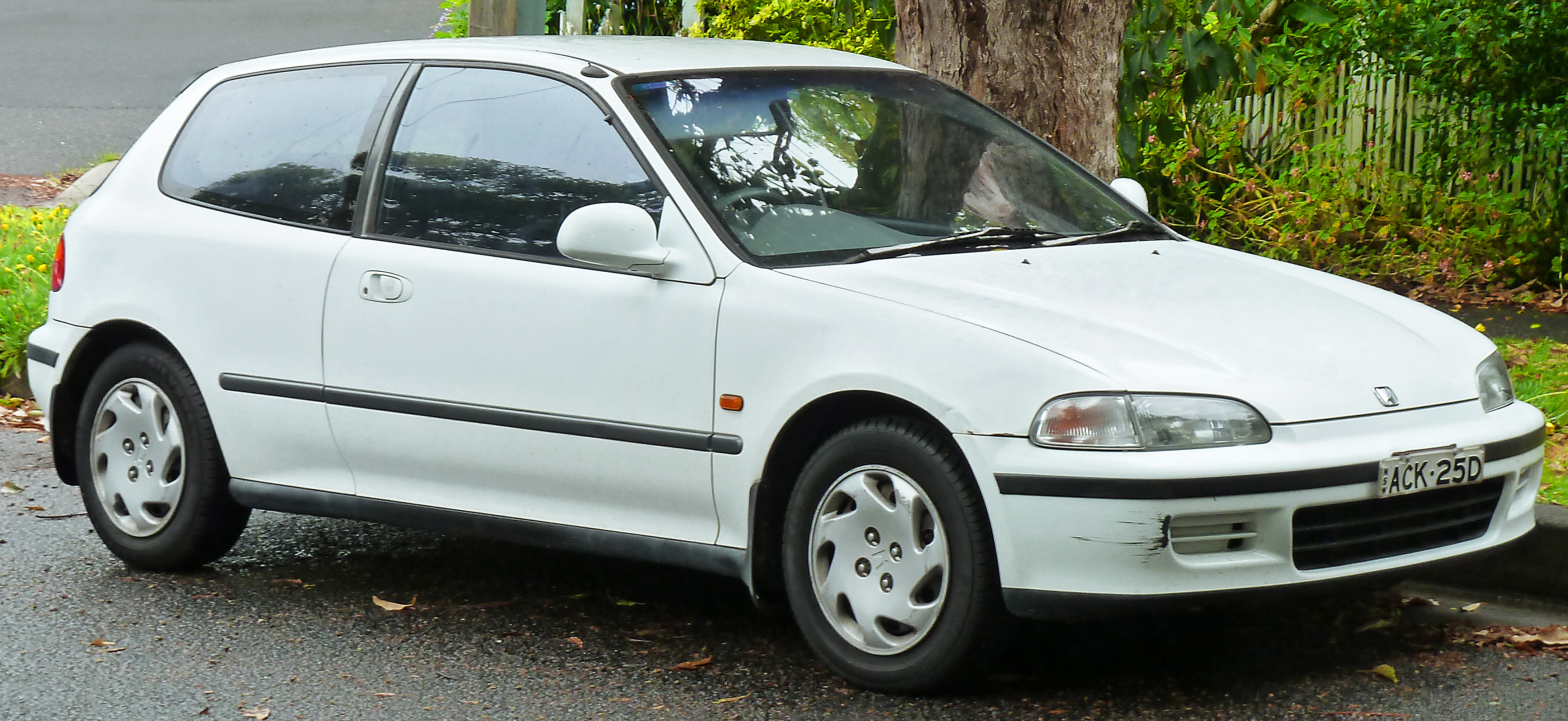 1993 Honda Civic #9